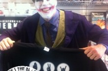 Even the joker thinks our new shirts are funny.