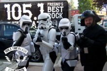 The Storm Troopers always make an appearance.