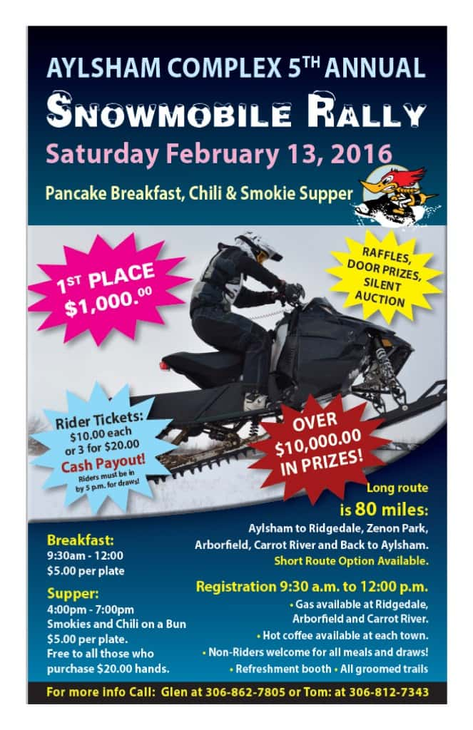 2016 Aylsham Rally Poster - Modified