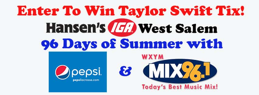 Our Final Entry Location Is: Hansen's IGA – West Salem!