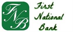 first natioal bank 250x110