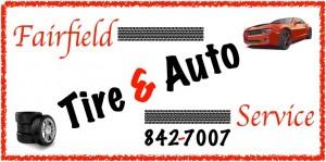 fairfield tire and auto logo