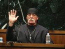 Hulk Hogan testifies in court during the first Gawker lawsuit trial in March, 2016; John Pendygraft-Pool/Getty Images