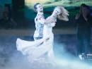 Mark Ballas and Paige VanZant perform; ABC/Adam Taylor