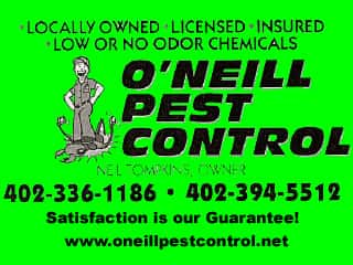 ONEILL PEST CONTROL--SHOPPING MALL