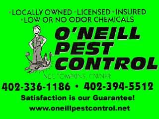 ONEILL PEST CONTROL--SHOPPING MALL