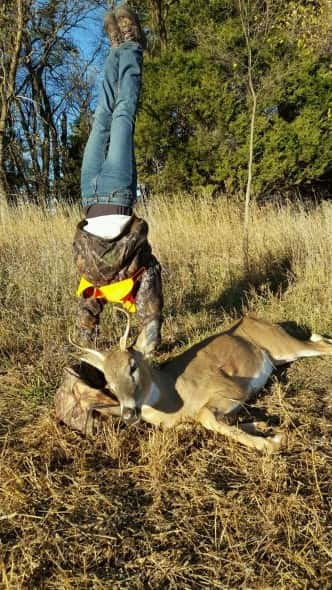 Aleyna Mlnarik gymnast first deer