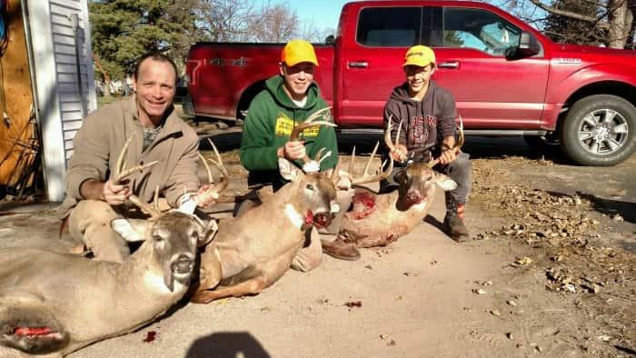 Dave,Cody, and Tristan Mlnarik