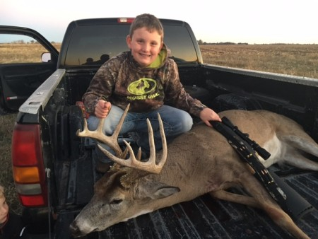 Kayden Ollendick with a 5 x 5