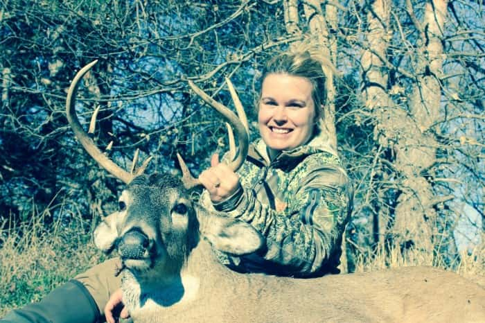 Laura Boshart shot on opening day north of O'Neill