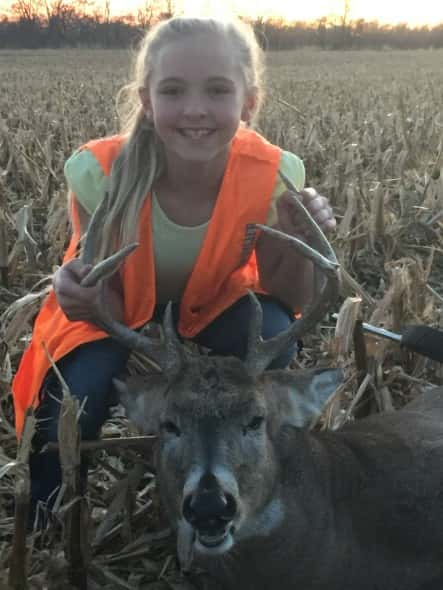 Miya Carey 4x4 her first deer!!