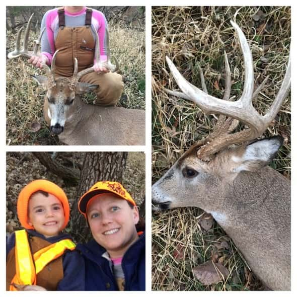 Holt Shane and his Mom with a nice 5 x 5