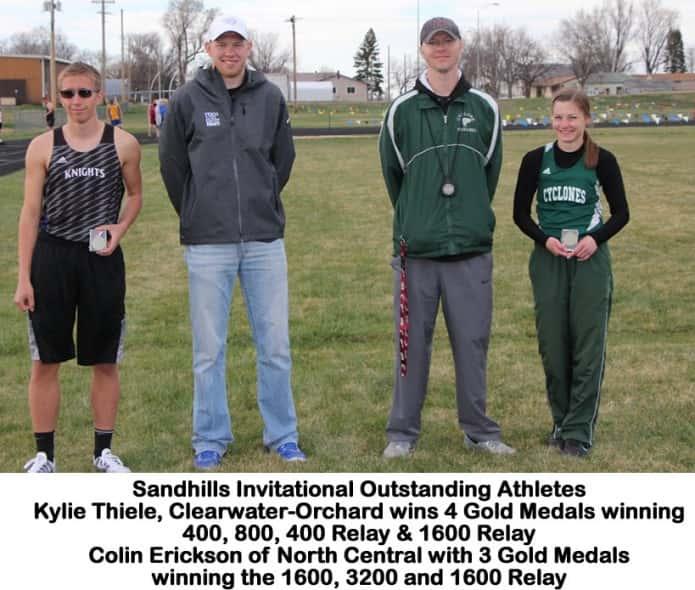sandhillsinvitaitonal outstandingathletes