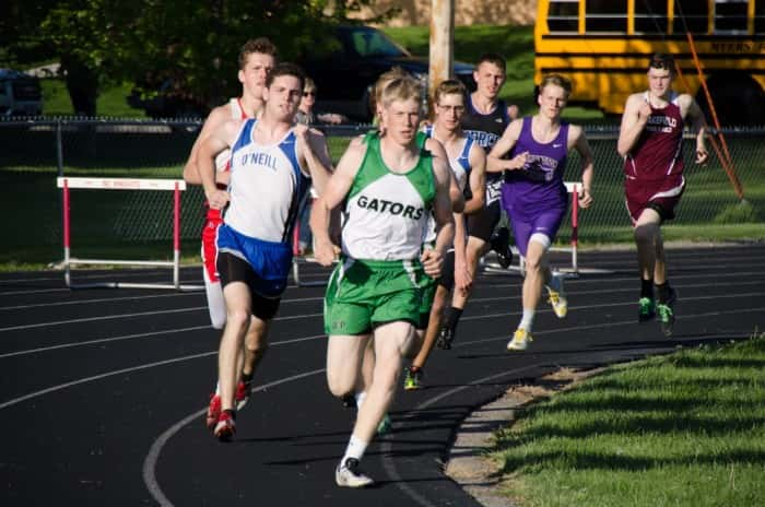 Jon Gettert & Nathaniel Jennings in the 800  Picture courtesy Mike Peterson