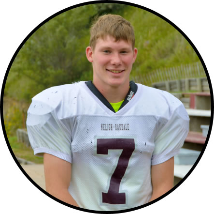 Neligh-Oakdale Senior Quarterback Grant White (Courtesy Neligh-Oakdale High School)