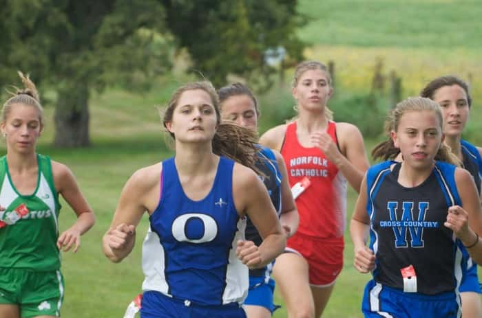 O'Neill High School Sophomore Lilly Thompson medalled and finished 13th at the Boone Central Invitational.