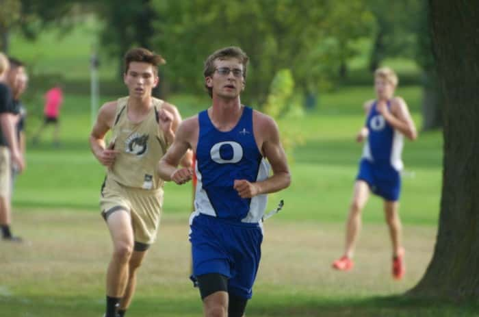 OHS Junior Nathaniel Jennings placed fourteenth and medalled at the Boone Central Cross Country Invite.