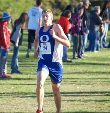 O'Neill Eagle Cross Country runner McCoy Strong is our Stadium Sports Male Top Dog Athlete of the Week (Photo Courtesy Kevin Morrow )