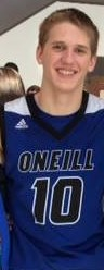 Justin Appleby a Junior on the O'Neill Eagles basketball team is our Stadium Sports Male Top Dog Athlete of the Week.