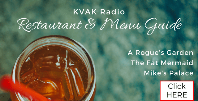 KVAK's Restaurant & Menu Guide, Find out what's on the menu at the restaurants in Valdez, Alaska!