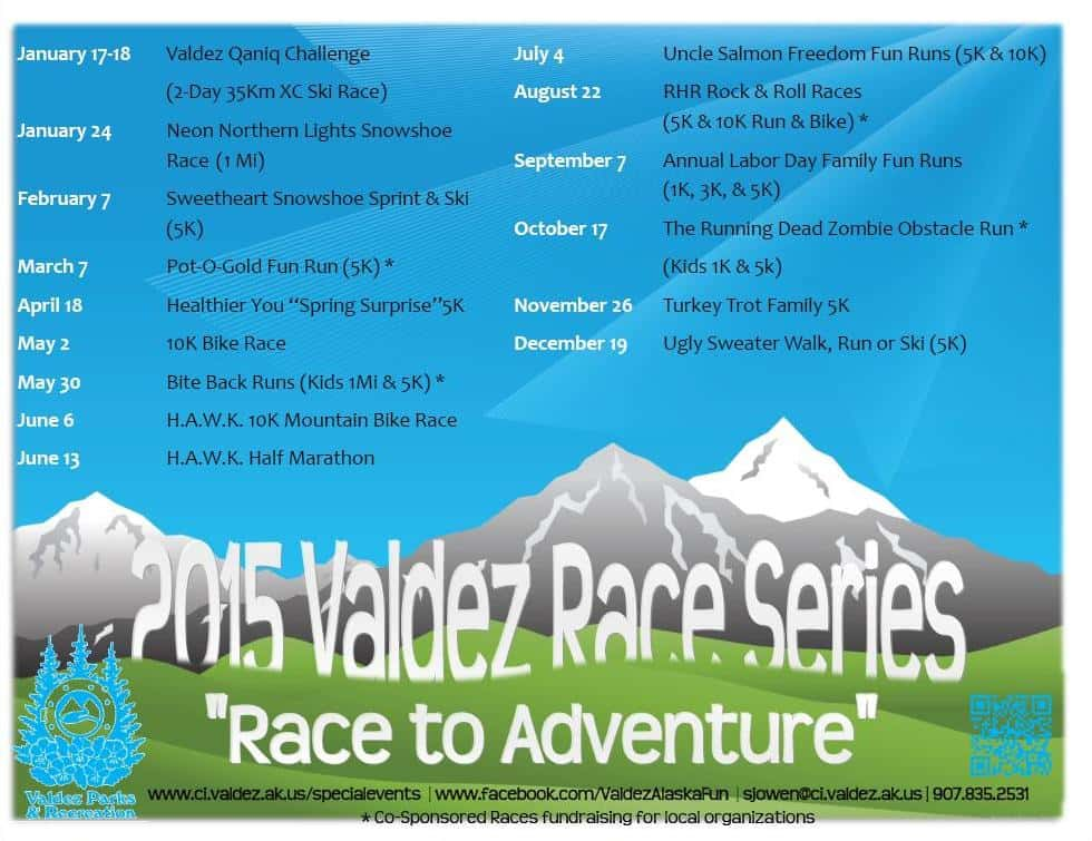 Parks and Rec 2015 Race Line up