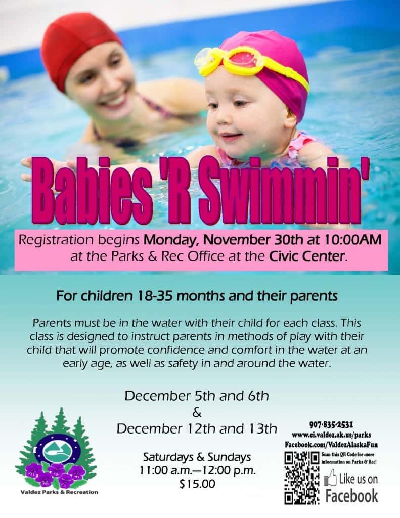 Babies R'Swimmin Dec 2015