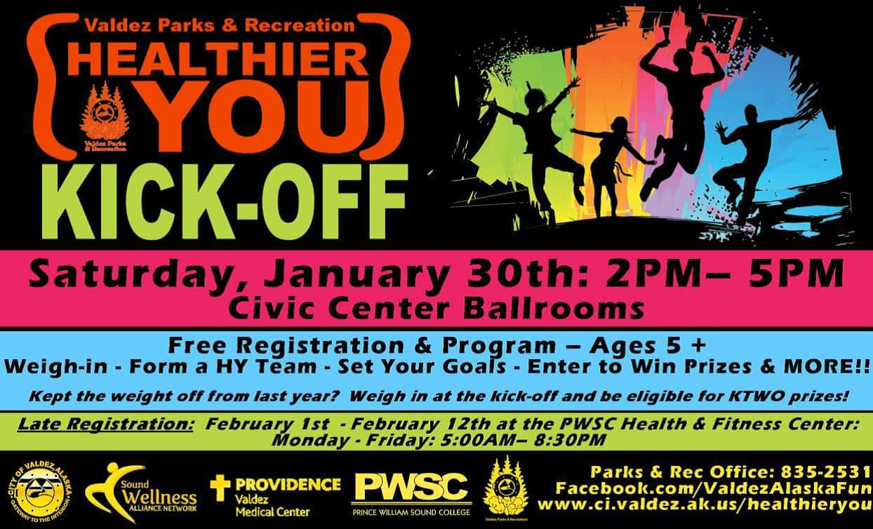 Healthier You Kick-Off flyer