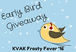 Early Bird Giveaway