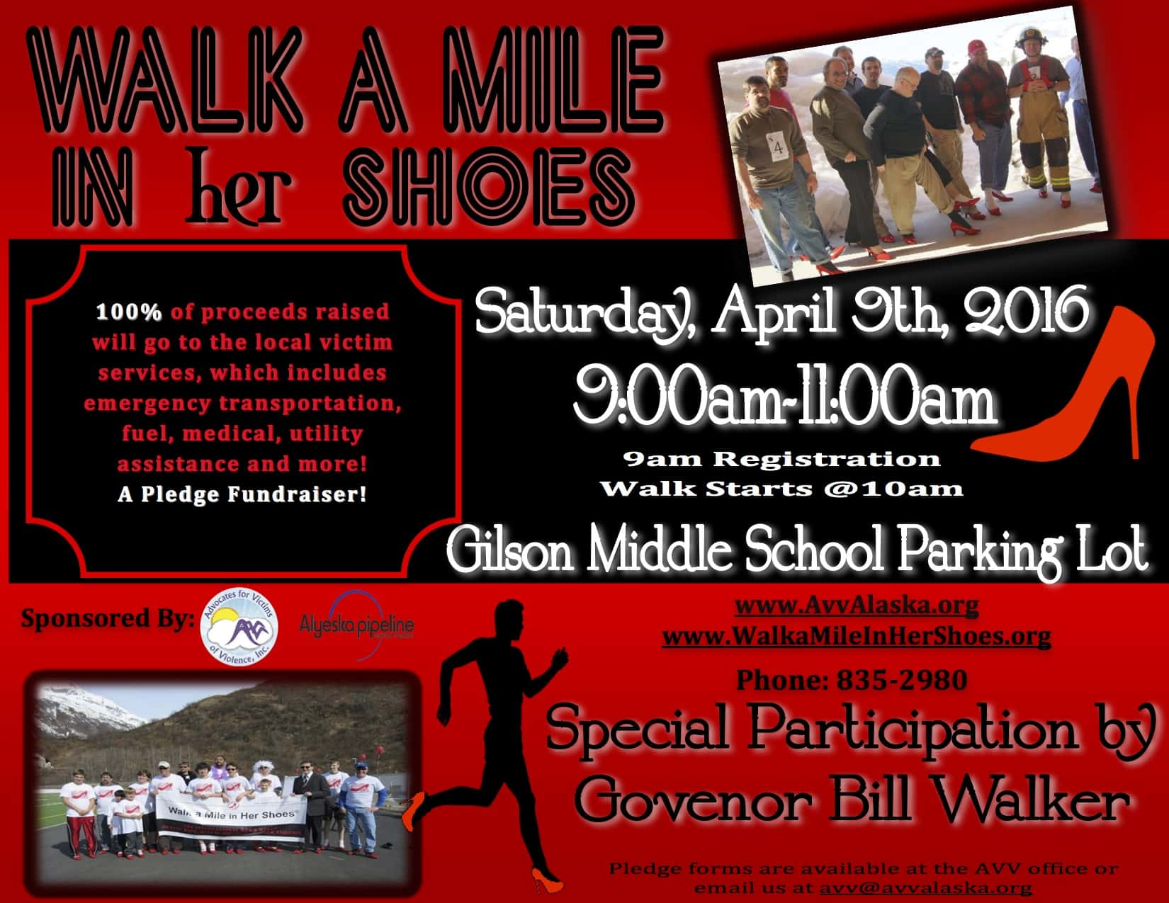 Walk a Mile Flyer