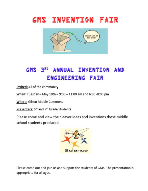 GMS Invention Fair