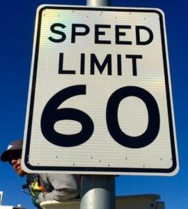 Speed Limit Raised