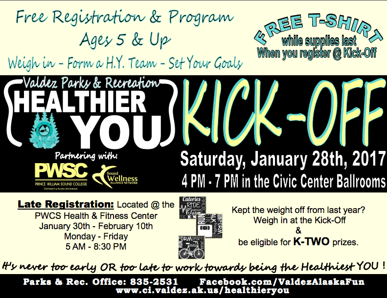 Healthier You Kick-Off 2017