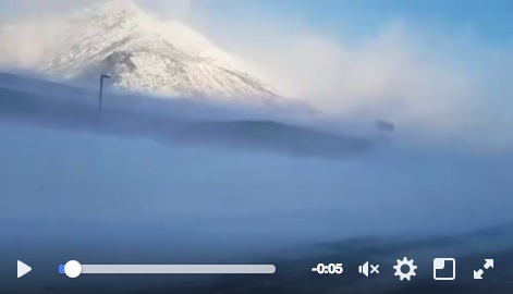 Video of wind at HHES Jan 6th