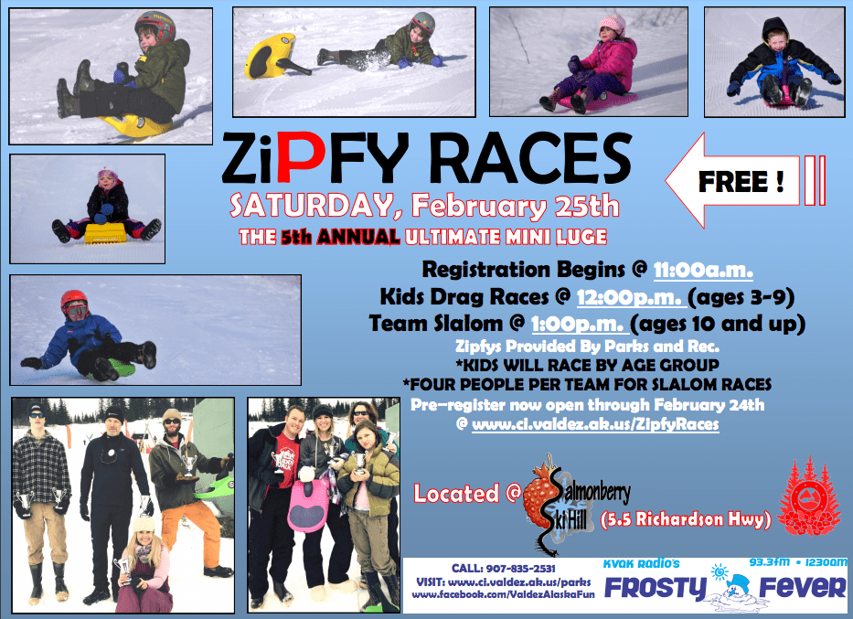 Zipfy Races 2017 Flyer