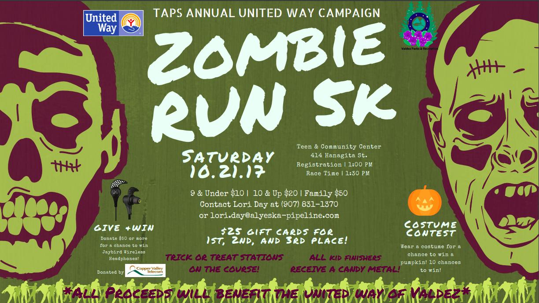 United Way Zombie Run 5K 2017