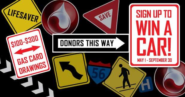 blood center car giveaway