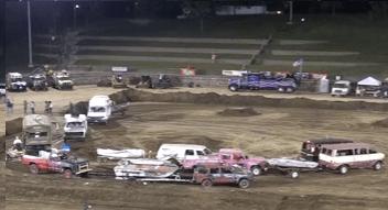 redneck boat races