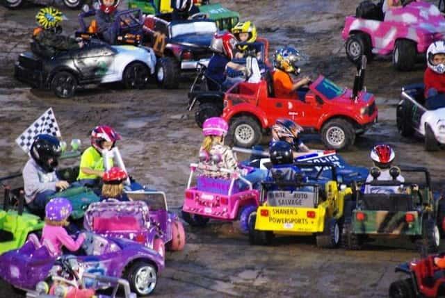 Power Wheels Demo Derby