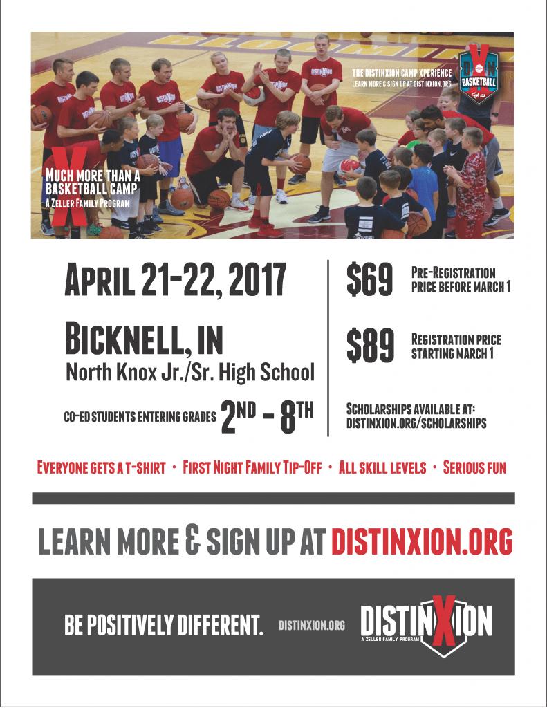 Bicknell Distinxion Flyer 2017