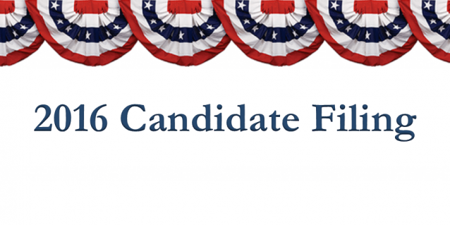Candidate Filing 2016