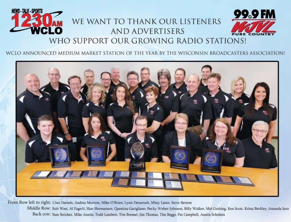 STAFF PHOTO AD