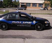 Janesville Police Car side view