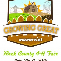 Rock County 4-H Fair logo 2016