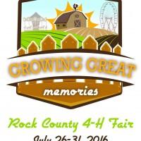 Rock County 4-H Fair logo 2016
