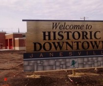 City of Janesville Historic sign
