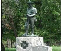 Eastlawn Cemetery monument