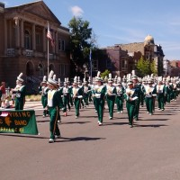 Parker high school maching band