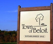 Town of Beloit sign