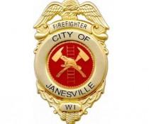 Janesville fire badge