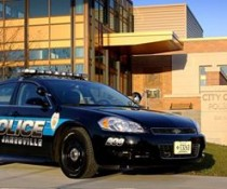 Janesville police car and station